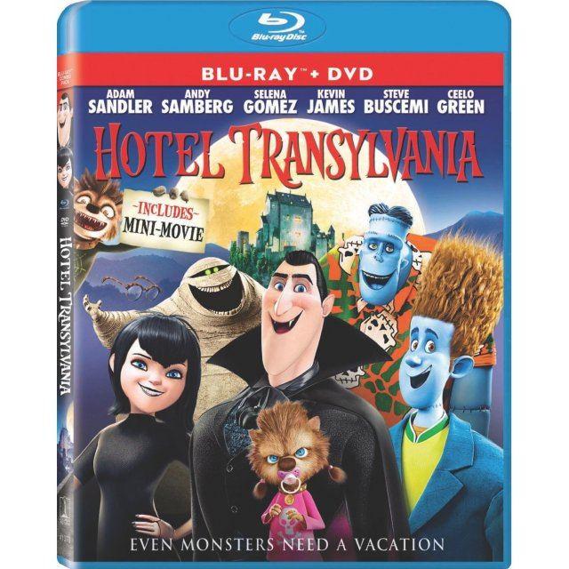 Hotel Transylvania [Blu-ray+DVD+UV Digital Copy]