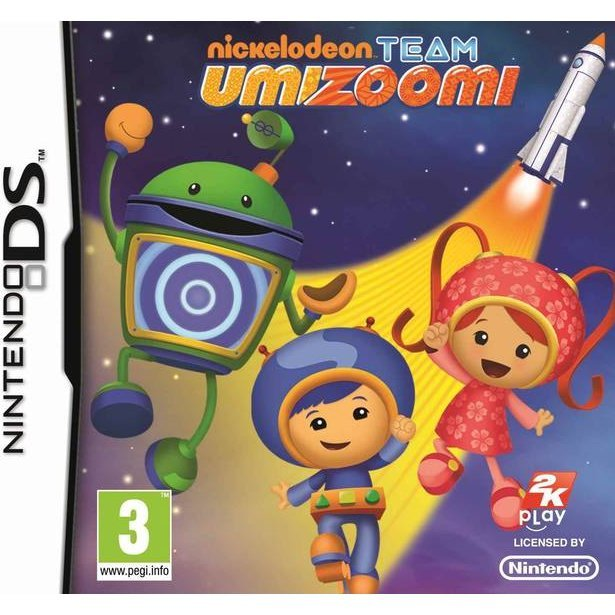 Toy Game On Ds : Nickelodeon team umizoomi