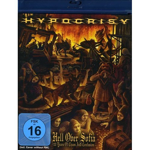 Hypocrisy: Hell Over Sofia - 20 Years Of Chaos And Confusion [Blu-ray + CD Combo Pack]
