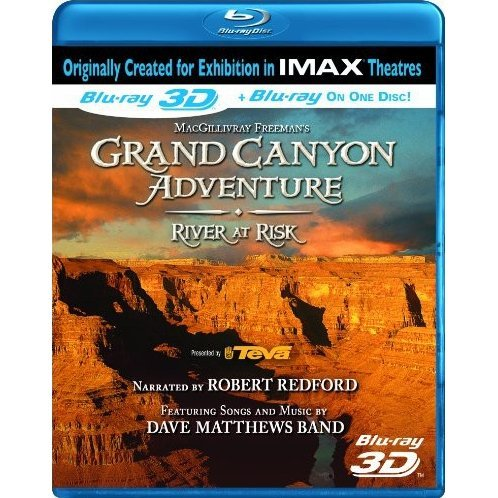 IMAX: Grand Canyon Adventure: River at Risk 3D [Blu-ray 3D + Blu-ray]