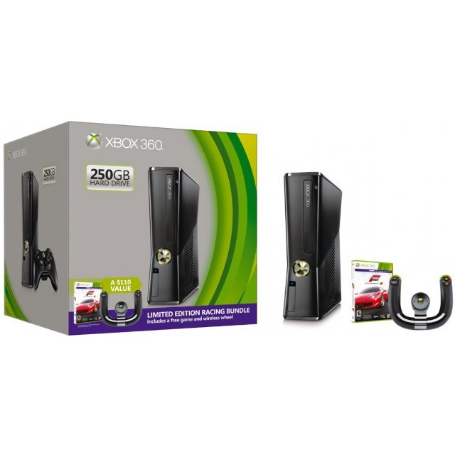 Xbox 360 250GB Limited Edition Racing Bundle (Forza Motorsport 4)