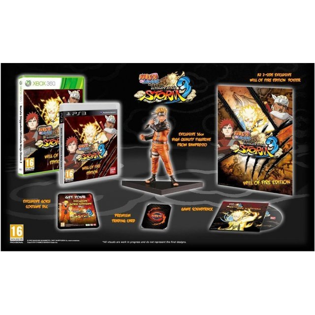 Naruto Shippuden: Ultimate Ninja Storm 3 (Will of Fire Edition)