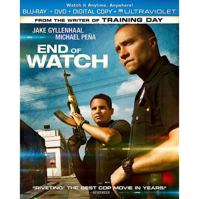 End of Watch [Blu-ray+DVD+UltraViolet]