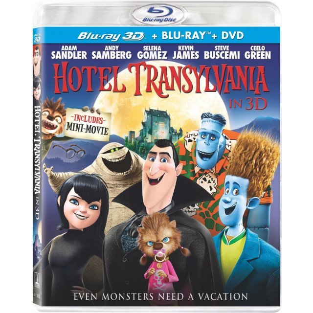Hotel Transylvania 3D [Blu-ray+DVD+UV Digital Copy]