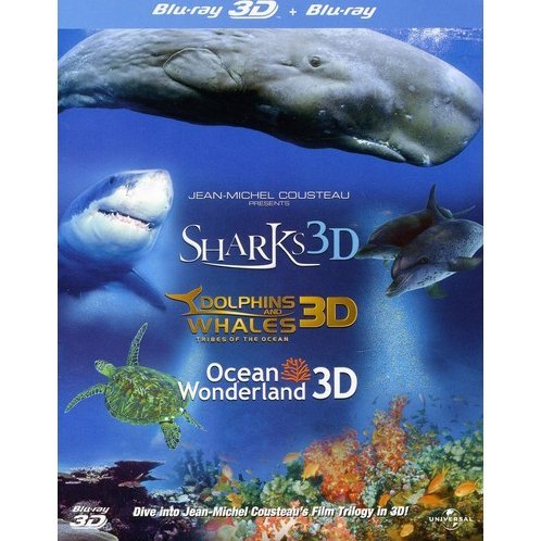 Jean-Michel Cousteau's Film Trilogy 3D [Blu-ray 3D + Blu-ray]