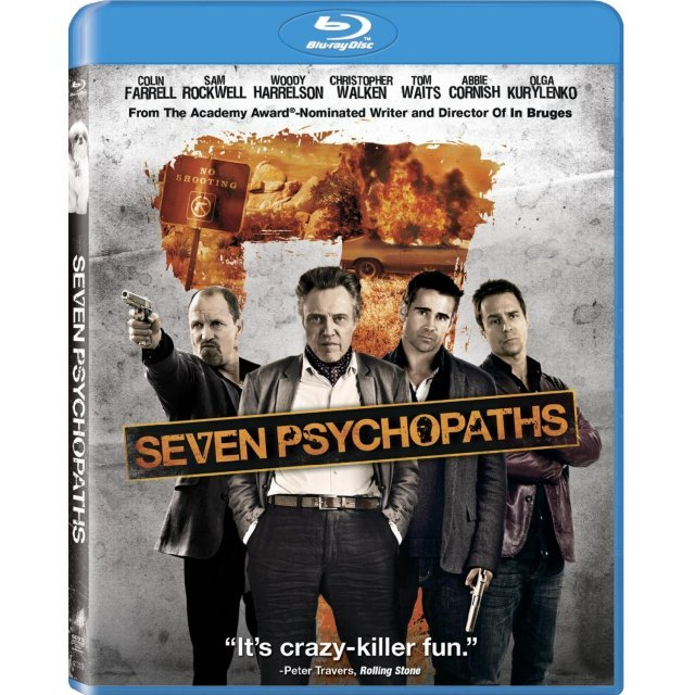 Seven Psychopaths [Blu-ray+UV Digital Copy]