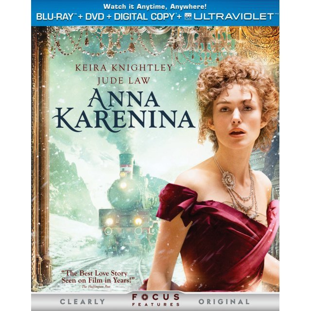 Anna Karenina [Blu-ray+DVD+UV Digital Copy]