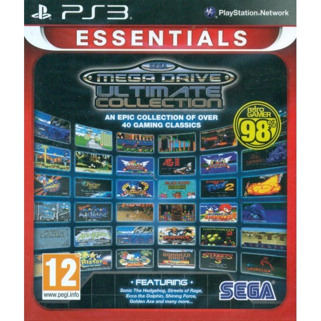 SEGA Mega Drive Ultimate Collection (Essentials)