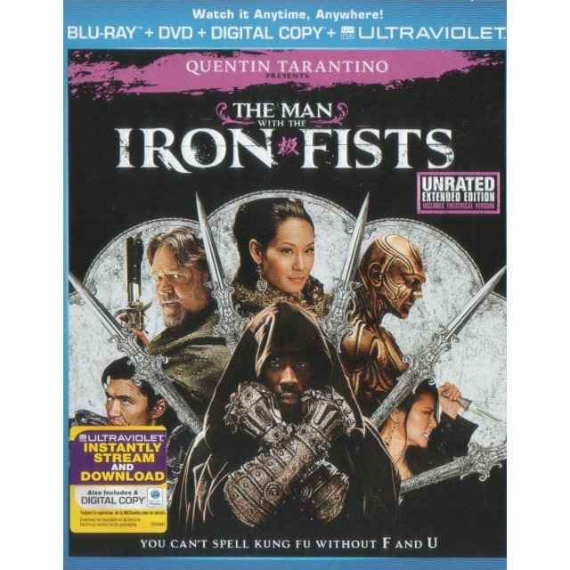 The Man with the Iron Fists [Blu-ray + DVD + UV Digital Copy]