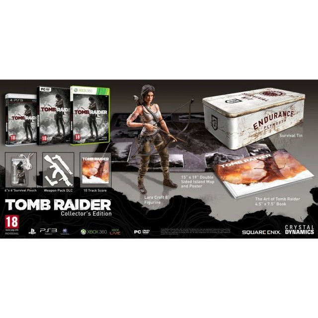 Tomb Raider (Collector's Edition) (DVD-ROM)