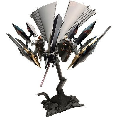 Ikaruga 1/144 Scale Plastic Model Kit: Hitekkai Ginkei [Black]