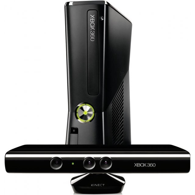 Xbox 360 Arcade Slim Console (250GB) Kinect Bundle incl. Kinect Adventures