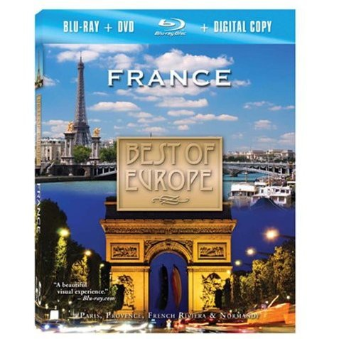 Best of Europe: France [Blu-ray+DVD]
