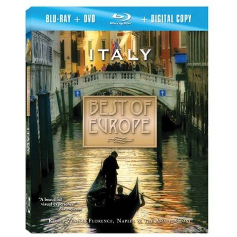 Best of Europe: Italy [Blu-ray+DVD]