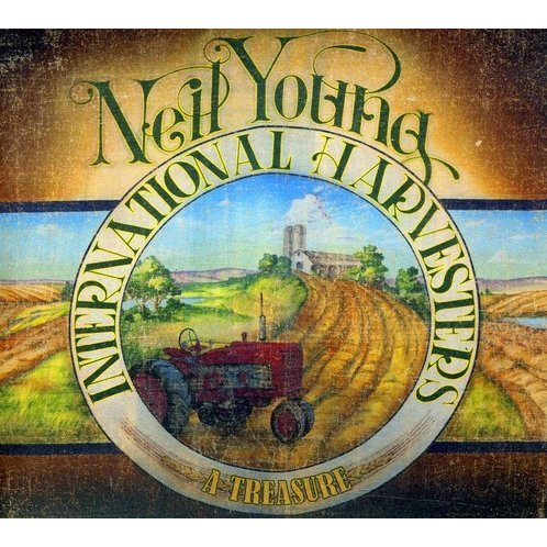 Neil Young and the International Harvesters: A Treasure [Blu-ray+CD]