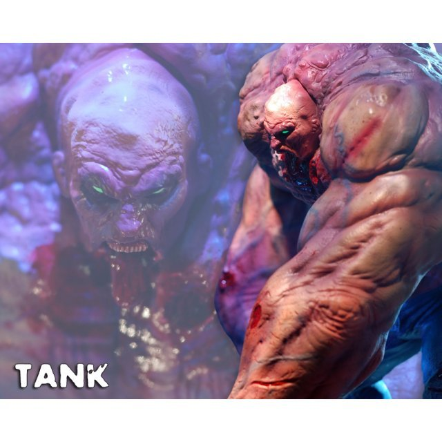 Gaming Heads Statue Left 4 Dead 2: Tank