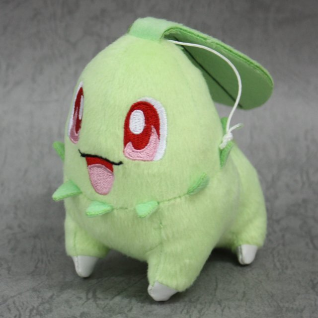 Pokemon Monster Plush: Chikorita