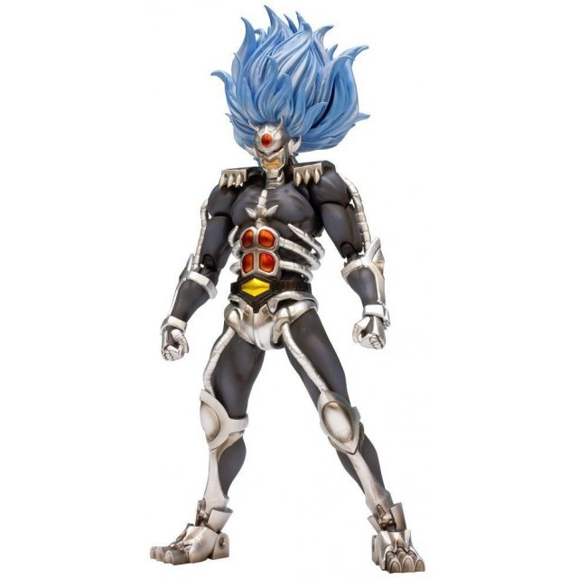 Riobot Jushin Liger Non Scale Pre-Painted PVC Figure: Juoh Black Liger