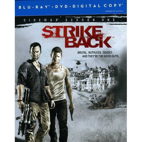 Strike Back: Cinemax Season One [Blu-ray + DVD + Digital Copy]