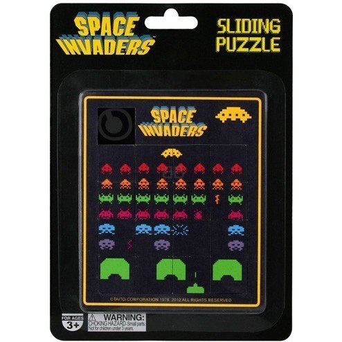 Space Invaders: Sliding Puzzle