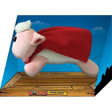 Worms Super Sheep Plush with Soundchip