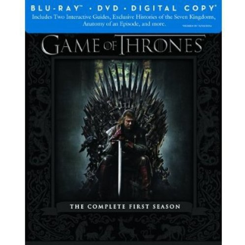 Game of Thrones: The Complete First Season [Blu-ray + Digital Copy]