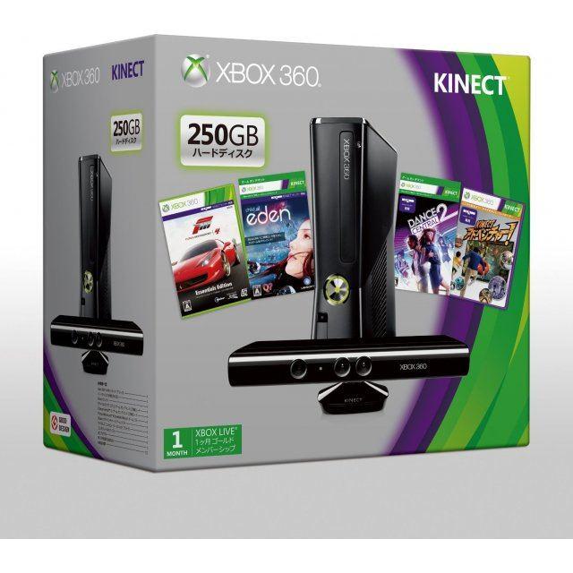 Xbox 360 Console (250GB) + Kinect [Premium Set]