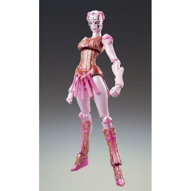 Super Figure JoJo's Bizarre Adventure Part 5 Non Scale Pre-Painted PVC Figure: Spice Girl (Hirohiko Araki Specify Color)