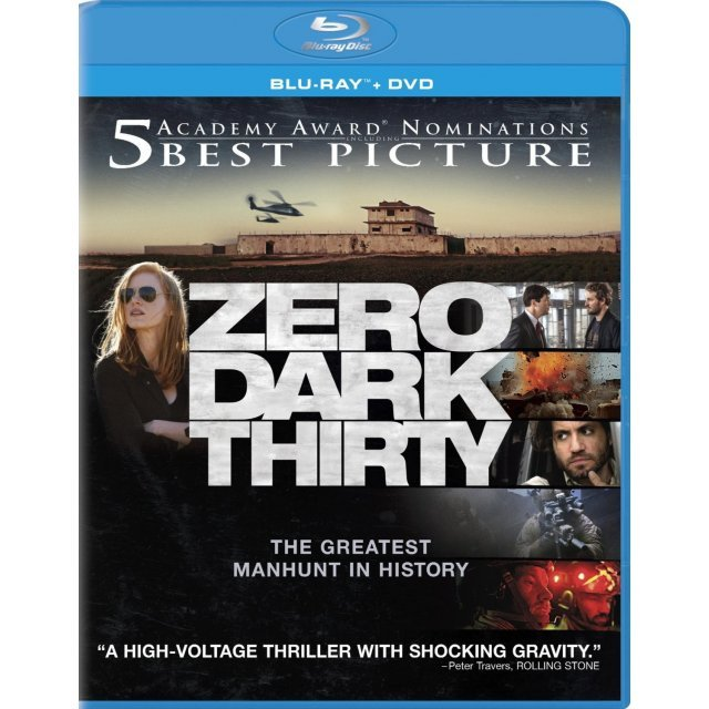Zero Dark Thirty [Blu-ray+DVD+UV Digital Copy]