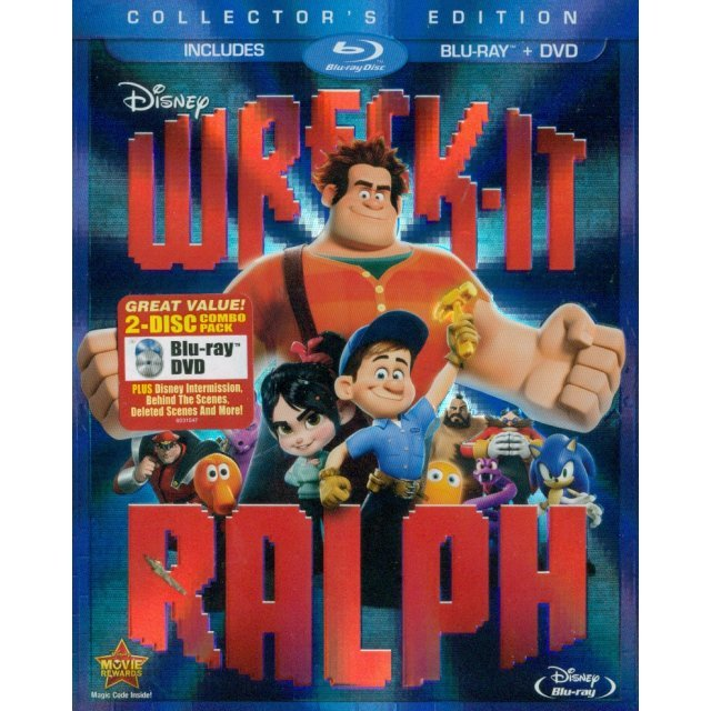 Wreck-It Ralph [Collector's Edition Blu-ray+DVD]