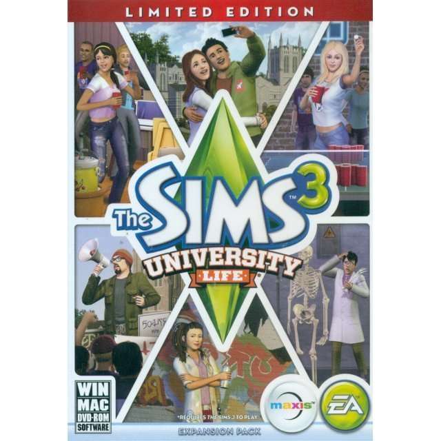 The Sims 3: University Life (Limited Edition) (DVD-ROM)