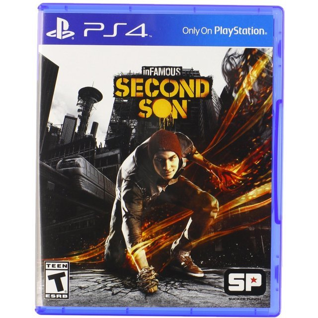 Infamous: Second Son (Latam Cover)