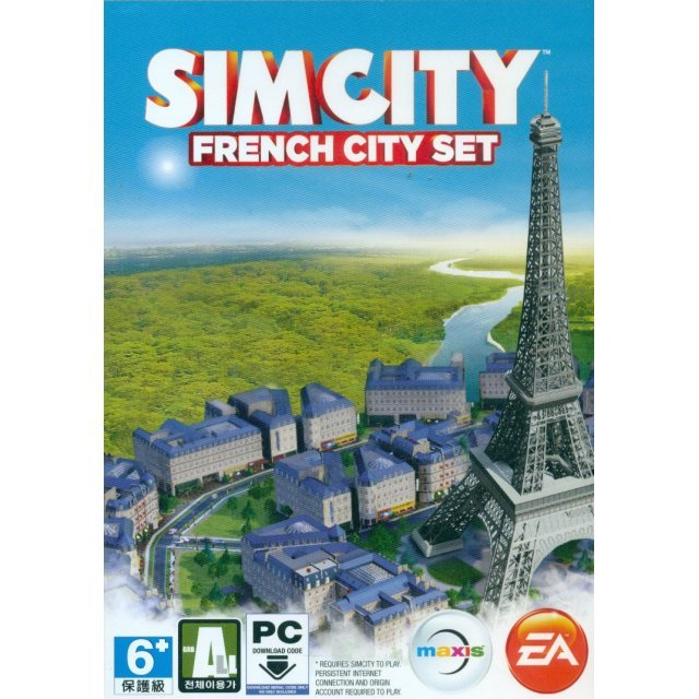 SimCity: French City Set (Download Code Only)