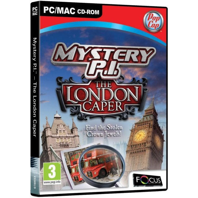 Mystery P.I.: The London Caper (DVD-ROM)