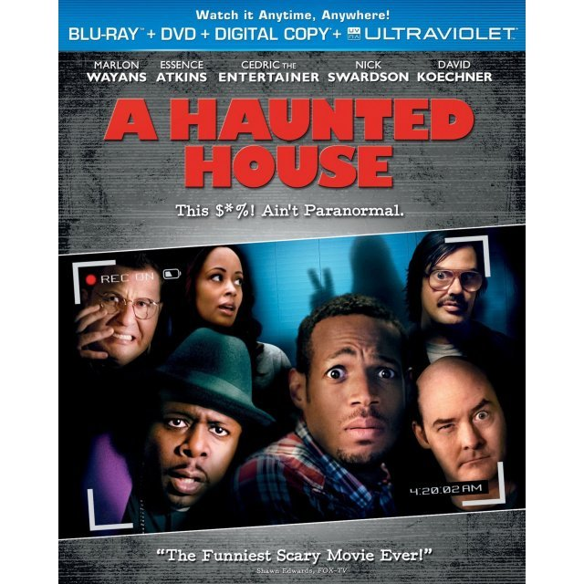 A Haunted House [Blu-ray+DVD+Digital Copy+UltraViolet]