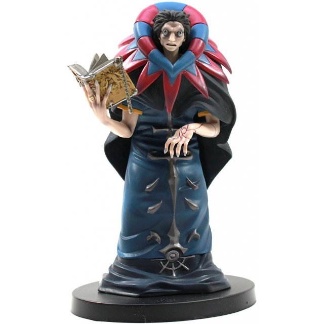 Fate/Zero DXF Servant Pre-Painted PVC Figure Vol.4: Caster [w/ limited Collector's Card]