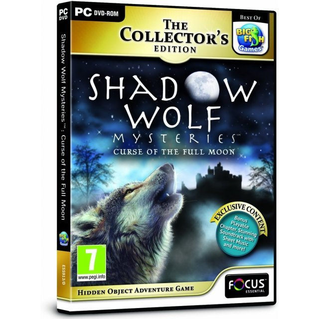 Shadow Wolf Mysteries Curse of the Full Moon (Collector's Edition) (DVD-ROM)