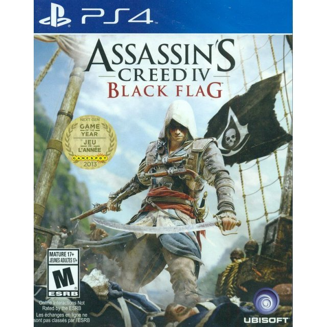 Assassin's Creed IV: Black Flag (Spanish Cover)