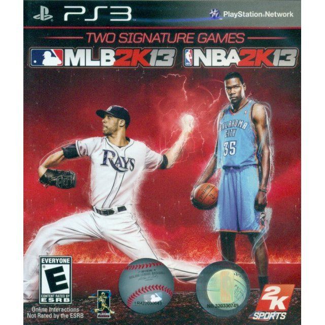 NBA 2K13/MLB 2K13 Combo Pack