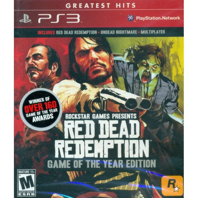 Red Dead Redemption: Game of the Year Edition (Greatest Hits)