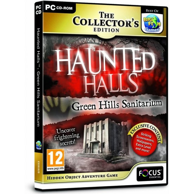Haunted Halls: Green Hills Sanitarium (Collectors Edition) (DVD-ROM)