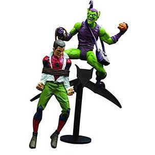 Marvel Select Classic Non Scale Pre-Painted Action Figure: Green Goblin with Peter Parking (Re-run)