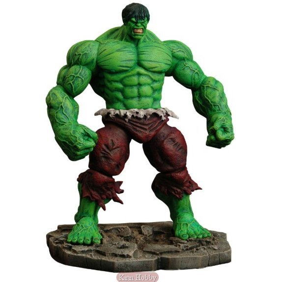 Marvel Select Pre-Painted Action Figure: Incredible Hulk (Re-run)