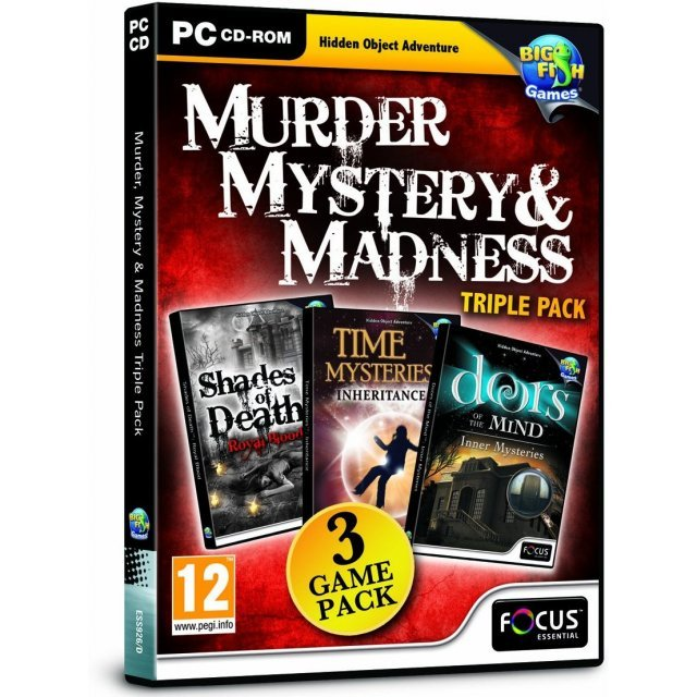 Murder, Mystery & Madness Triple Pack (DVD-ROM)