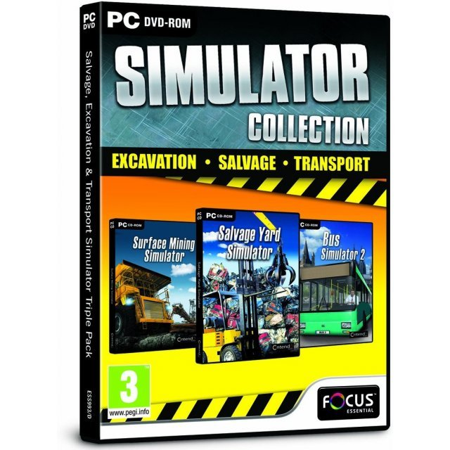 Simulator Collection: Excavation, Salvage, Transport (DVD-ROM)