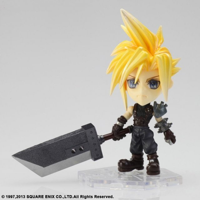 Final Fantasy Advent Children Trading Arts Kai Mini Figure: No.10 Cloud Strife