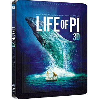 Life of PI [3D+2D 2Blu-ray Steelboook Edition]