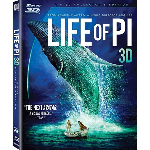 Life of PI [3D+2D 2Blu-ray]