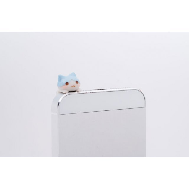 Earphone Jack: Pastel Blue