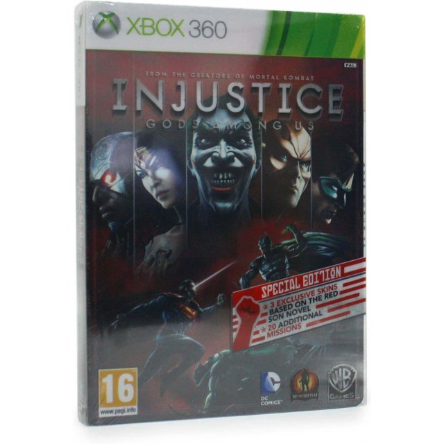 Injustice: Gods Among Us (Steel Box Special Edition)